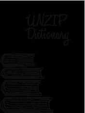UNZIP Dictionary