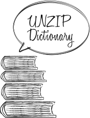UNZIP Dictionary